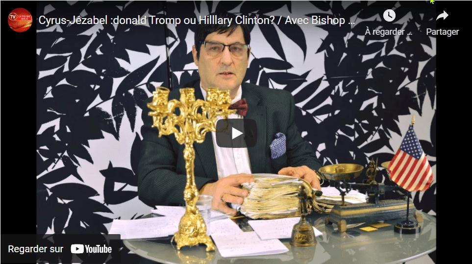 Le lion de juda rugit Cyrus-Jézabel Donald Trump ou Hillary Clinton